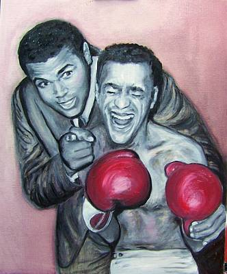 Painting - Ali And Sammy by Martha Suhocke