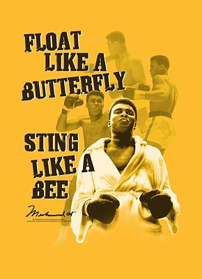 Boxer Digital Art - Ali - Attitude Bee by Brand A