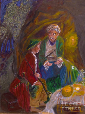 Painting - Ali Baba by Mounir Mounir