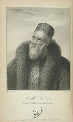 Ali Pacha Art Print by British Library