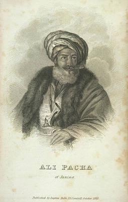 Ali Pacha Of Janina Art Print by British Library