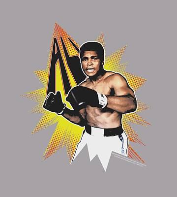 Boxer Digital Art - Ali - Power Punch by Brand A
