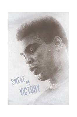 Boxer Digital Art - Ali - Sweat Of Victory by Brand A