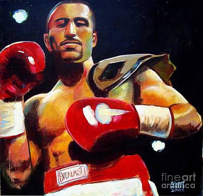 Art Print featuring the painting Ali Tareh by Robert Phelps