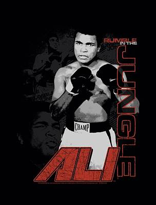 Boxer Digital Art - Ali - Ultimate Boxer by Brand A