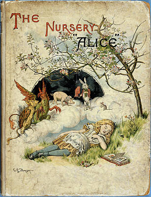 Famous Literature Photograph - Alice Asleep by British Library