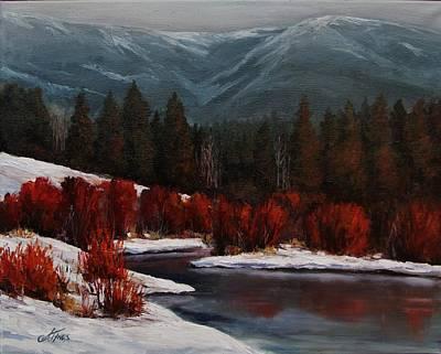 Alice Creek Art Print by Suzanne Tynes