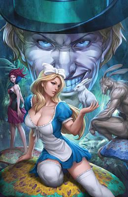 Alice In Wonderland Mixed Media - Alice In Wonderland 01a by Zenescope Entertainment