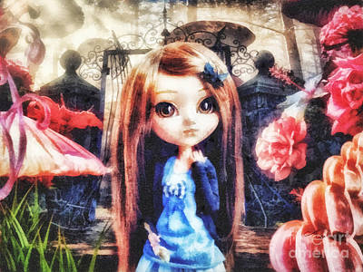 Children Book Mixed Media - Alice In Wonderland by Mo T