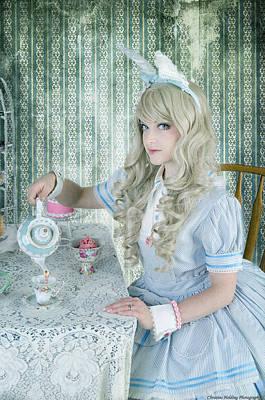 Alice Lolita Art Print by Christine Holding