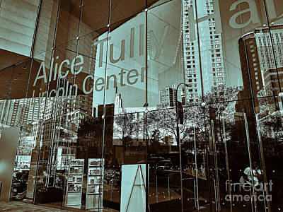 Nyc Photograph - Alice Tully Hall by Jeff Breiman