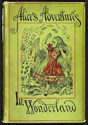Famous Book Photograph - Alice's Adventures In Wonderland by British Library