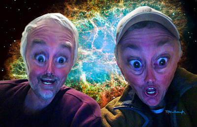 Photograph - Alien Brothers Filtered by Duane McCullough