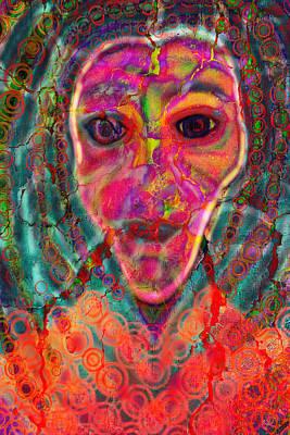 Alien Fiend  Art Print
