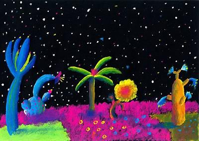 Alien Garden Art Print