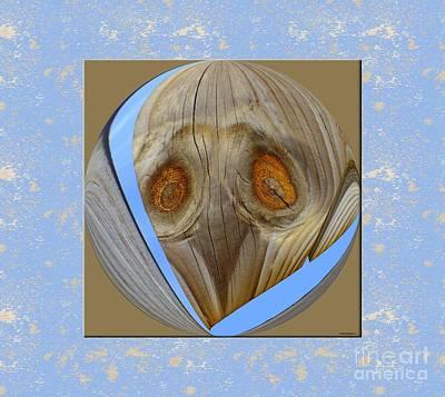 Earthly Alien Art Print by Scott Cameron