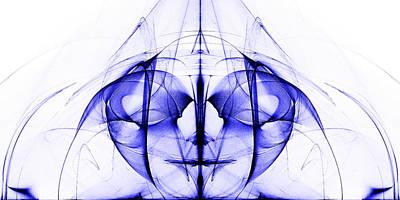 Alienating Digital Art - Alien - Joker by Sander Kleynend