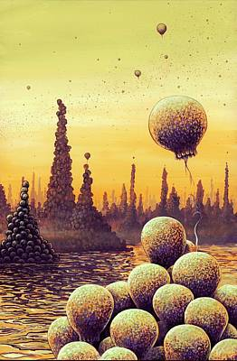 Sf Photograph - Alien Life Forms by Richard Bizley