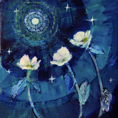 Painting - Alien Moon by Diane Ursin