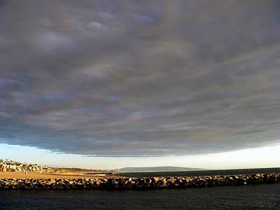 Photograph - Alien Storm Cloud by Jeff Lowe