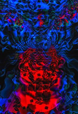 Fractal Geometry Digital Art - Alien Species by Camille Lopez