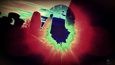 Edward Hopper - Alien Sunset by Jessica Lea