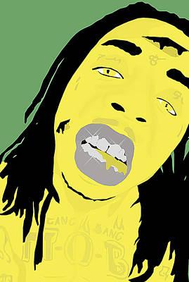 Tunechi Drawing - Alien Wayne by Rvrx Spxcix