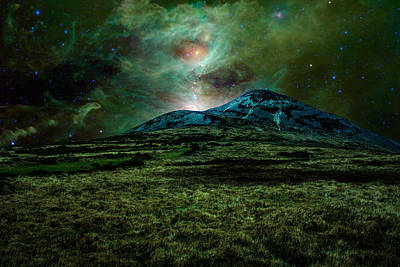 Photograph - Alien World by Semmick Photo