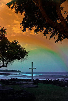 Photograph - Alii Cross by Randy Sylvia