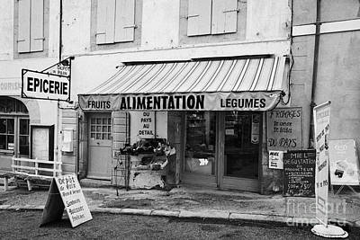 Alimentation Small General Store Mont-louis Pyrenees-orientales France Art Print