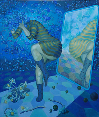 Alice Art Print by Ceri H Pritchard