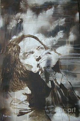 Eddie Vedder Painting - Alive by Stuart Engel