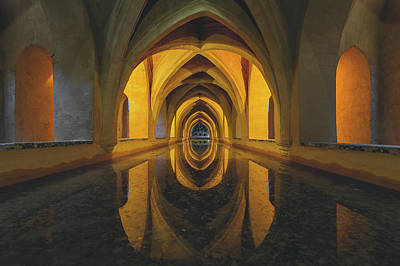 Dungeon Photograph - Aljibe by Javier Puy?