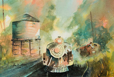 Painting - All Aboard by Lee Beuther