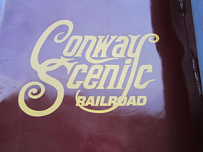 All Aboard The Conway Scenic Railroad Original by JS Matthew