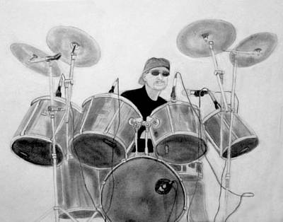 Drawing - All About The Drums by Kimber  Butler