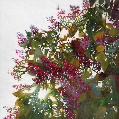 Painting - Aglow by Helen White