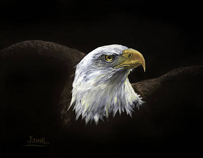 All American Art Print by Jamil Alkhoury