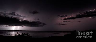 Lightning Photograph - All Around by Quinn Sedam