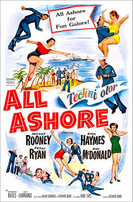 All Ashore, Us Poster, Top Right Mickey Print by Everett