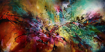 'all At Once' Art Print by Michael Lang