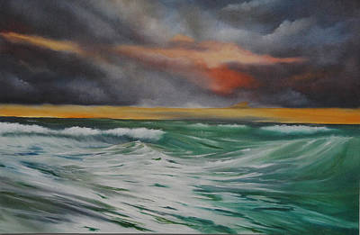 Painting - All At Sea by Neil Kinsey Fagan