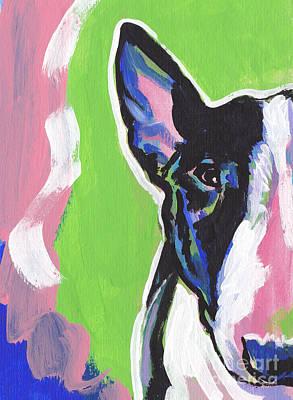 Bull Terrier Painting - All Bull by Lea S
