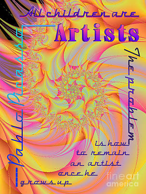 All Children Are Artist Art Print
