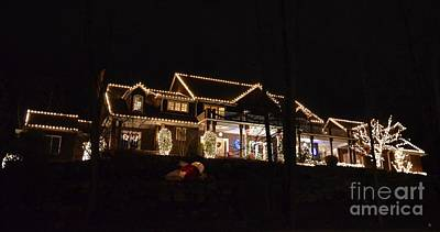 Christmas Holiday Scenery Photograph - All Decked Out In Cheer by Michael Keough