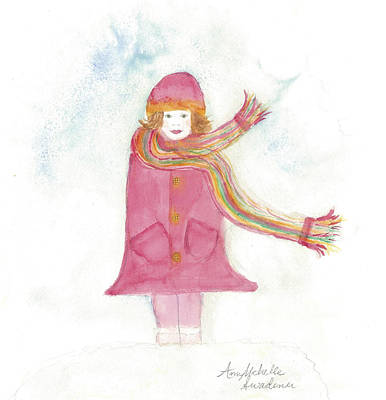 All Dressed Up And Ready For Snow Art Print