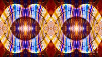 Digital Art - All Eyes On Eternity Abstract Living Artwork By Omaste Witkowski by Omaste Witkowski