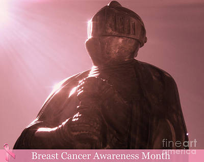 Breast Cancer Awareness Month Photograph - All For One Cause  by Kristine Nora