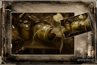 Bible And Camera Photograph - All Gods Creations Are Beautiful In The Eye Of The Beholder by Wildlife Fine Art