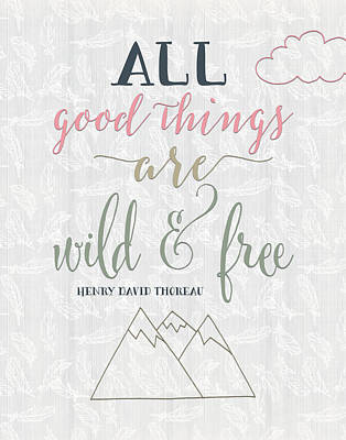 Free Painting - All Good Things Quote by Tara Moss